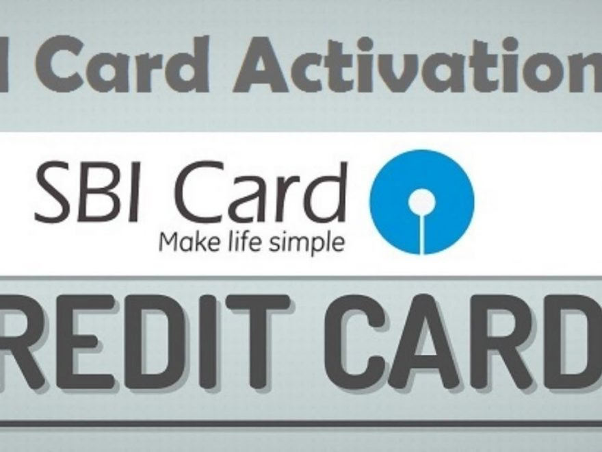 SBI credit card activatiAon