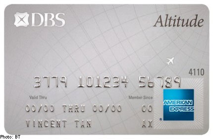 dbs credit card activation