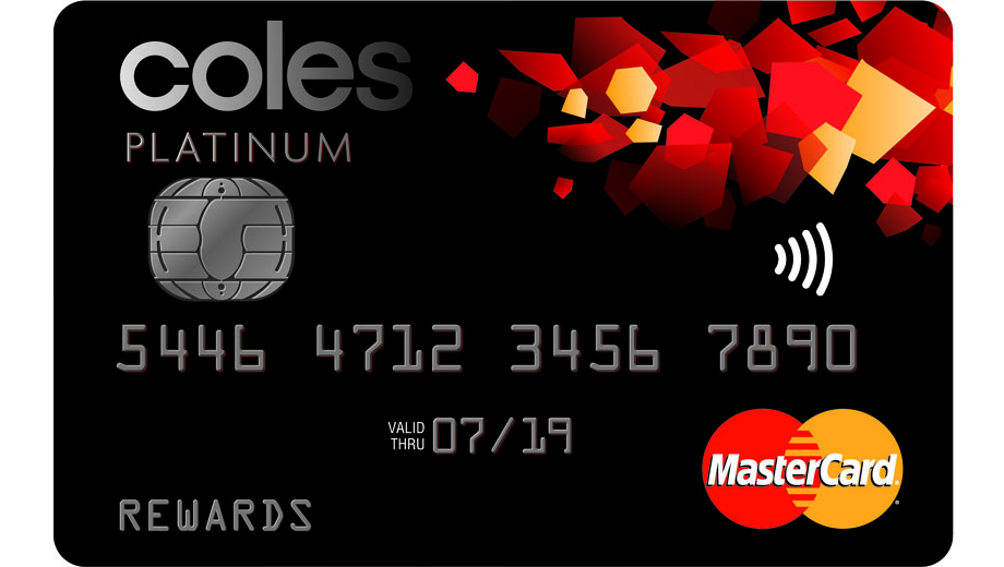 how to activate coles credit card