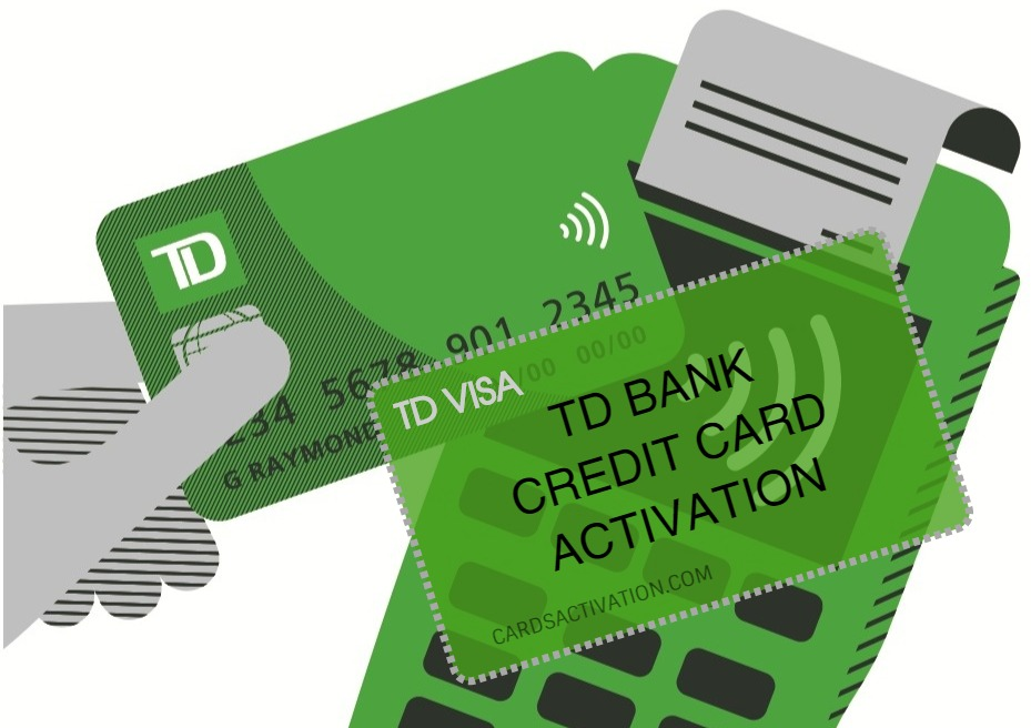 td bank credit card activation