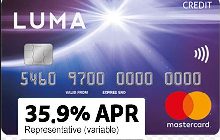 Luma Credit Card Activation