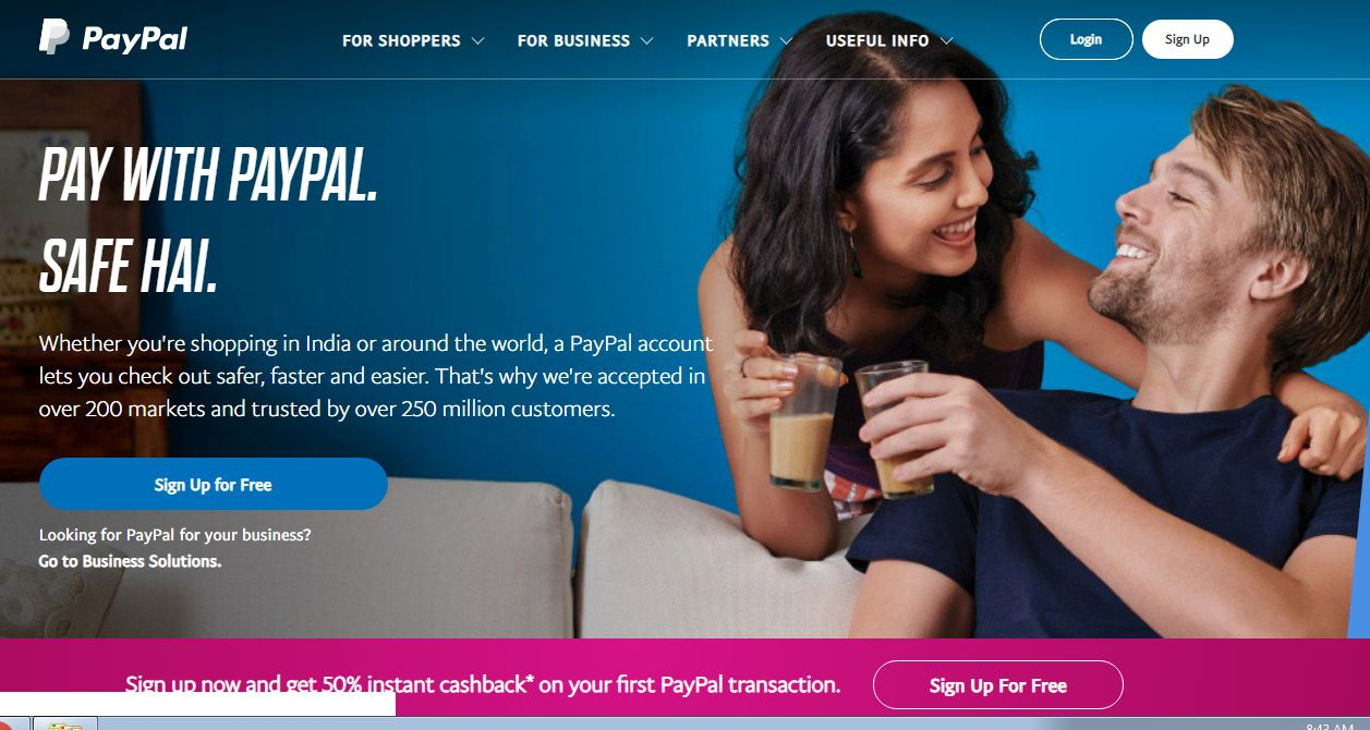 activate paypal credit card