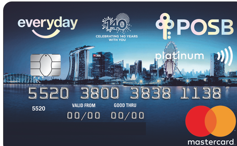 posb credit card activation
