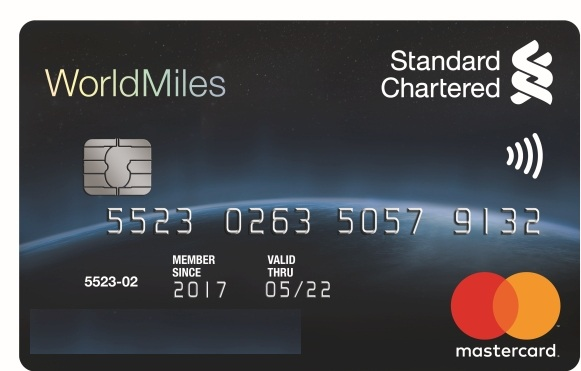 standard chartedred credit card activation