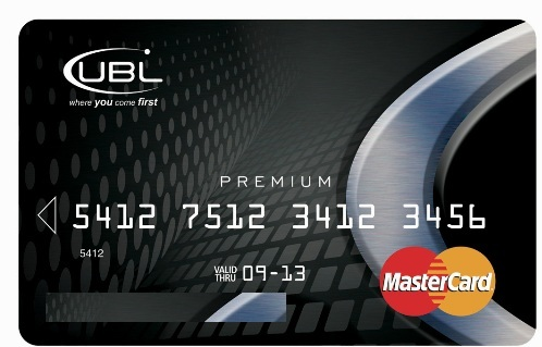 ubl credit card activation